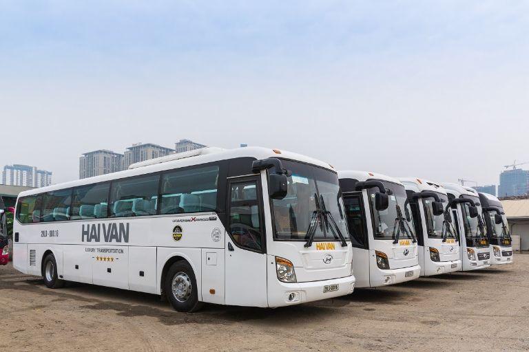 xe chất lượng cao của Hải Vân Express