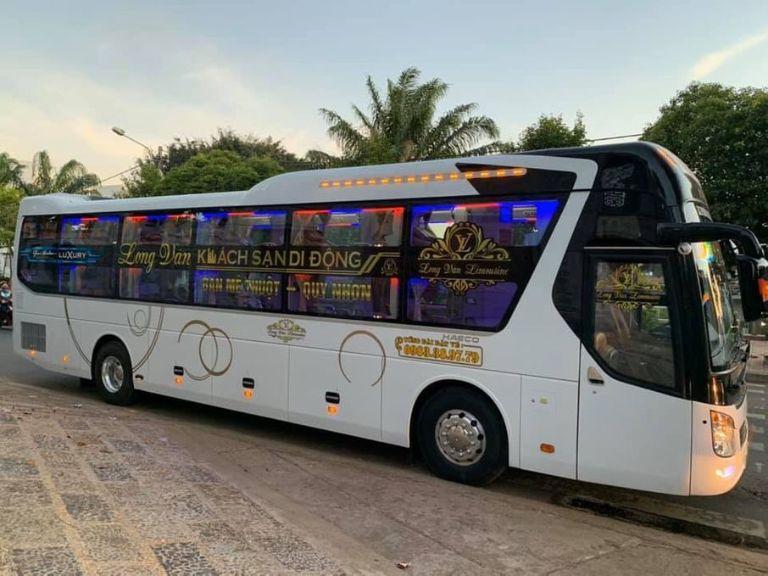 Nhà xe Long Vân - xe khách Hà Nội- Pleiku
