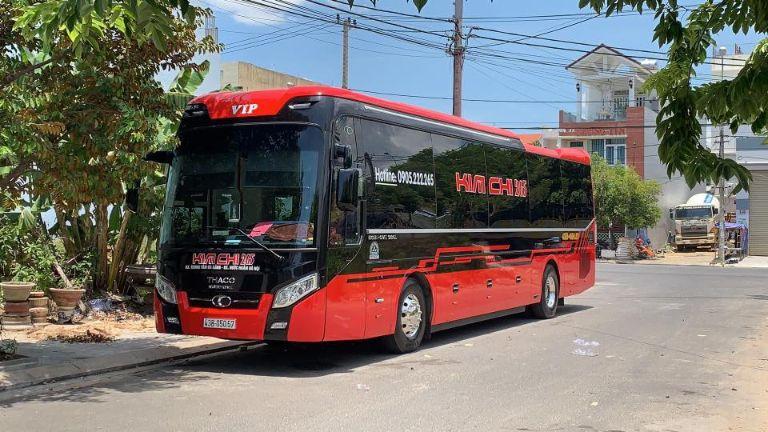 Nhà xe Kim Chi 265 - xe khách Hà Nội - Quảng Bình
