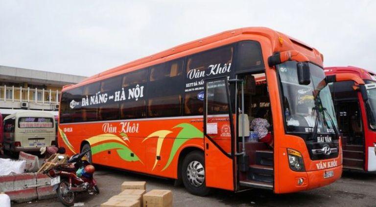 Nhà xe Vân Khôi xe khách Hà Nội - Quảng Bình