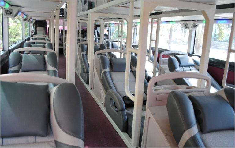 Nội thất FUTA Bus