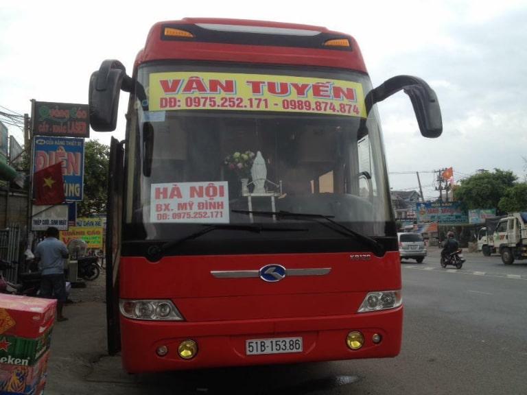 Xe Vân Tuyến Hà Nội đi Quảng Ngãi