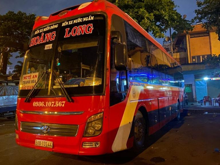 Xe khách Hoàng Long Quảng Ngãi