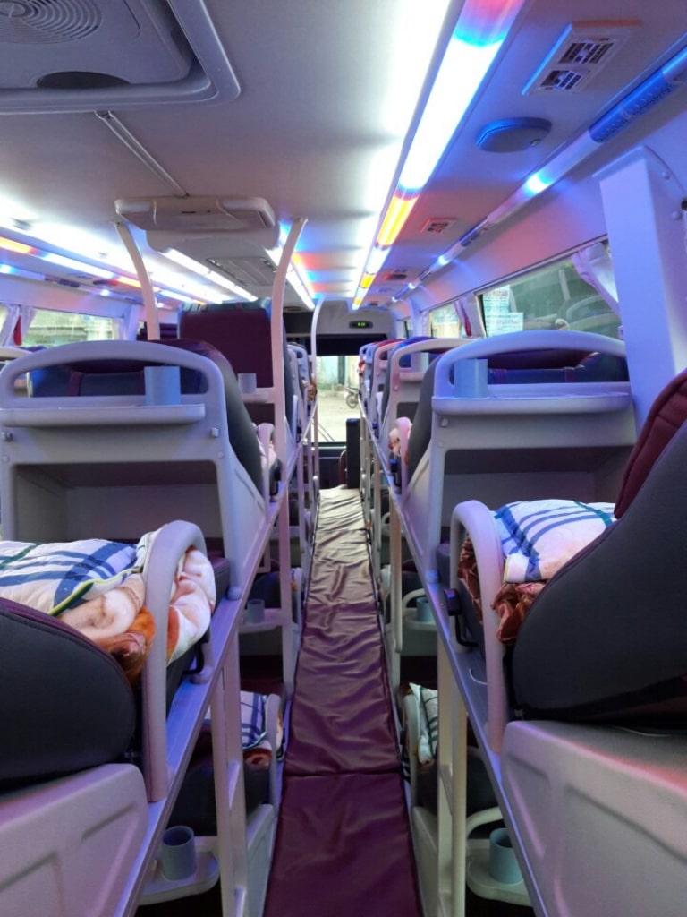 Giường nằm xe Thu Trang