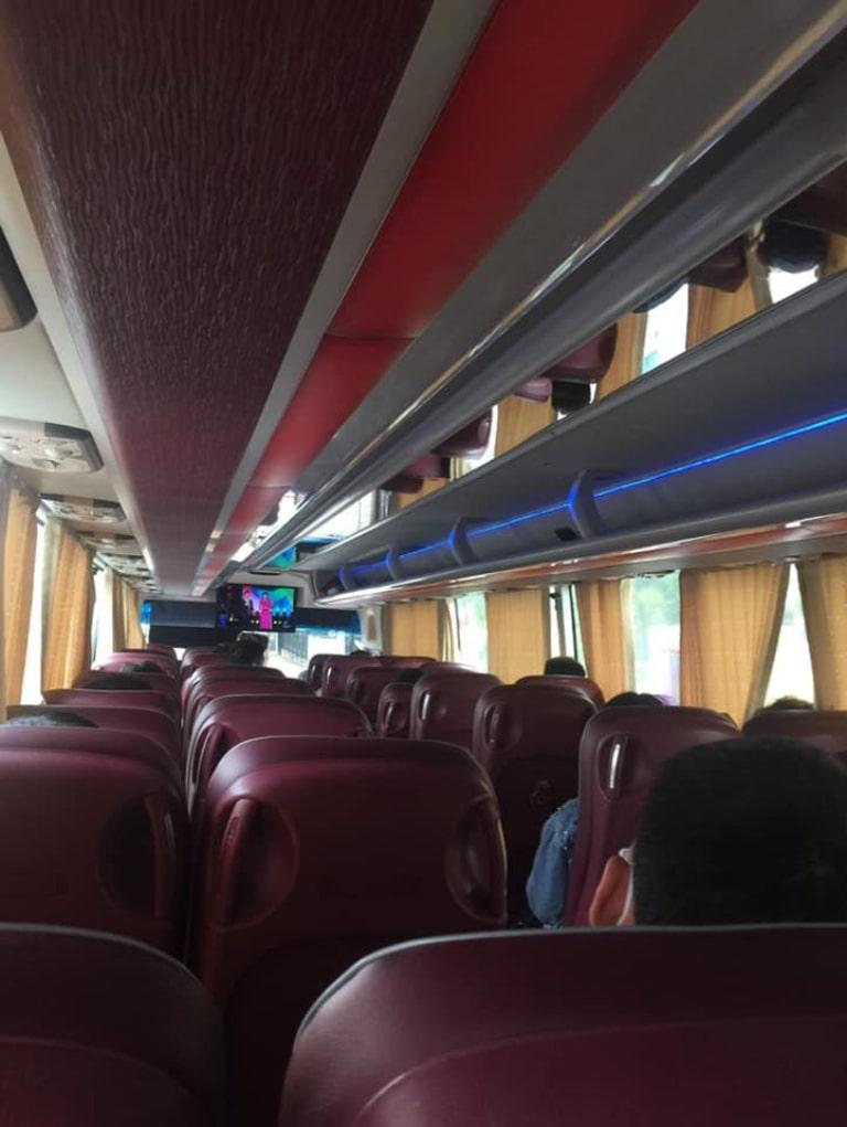 Ghế xe Kumho Việt Thanh Quảng Ninh