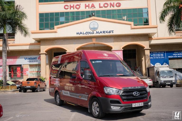 Xe Phúc Xuyên chạy tuyến Hà Nội Quảng Ninh