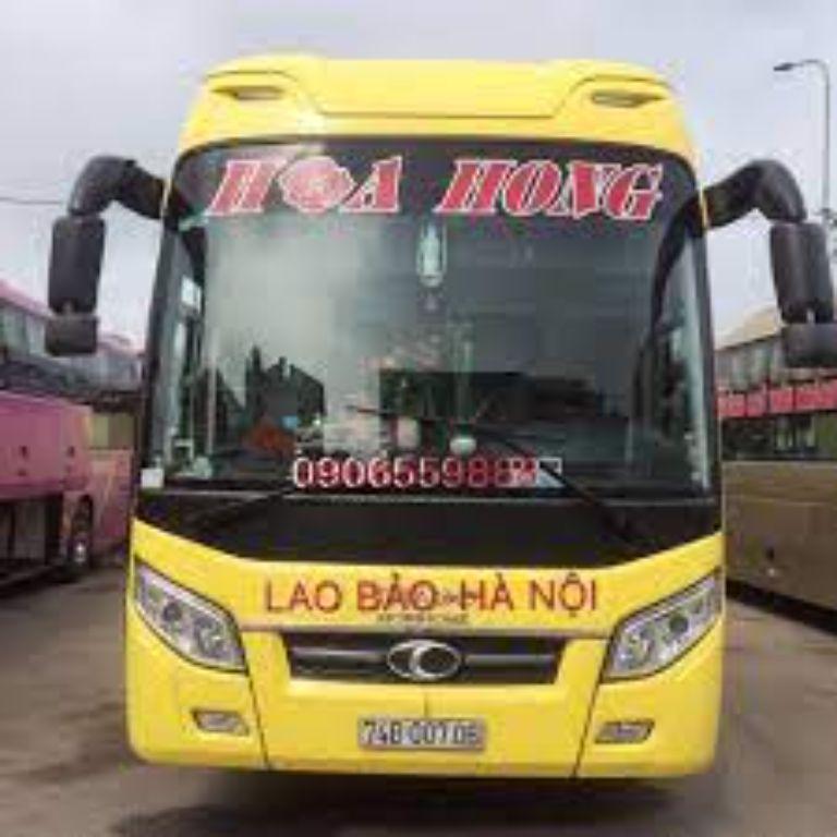 Xe khách Hà Nội Quảng Trị - Hoa Hồng