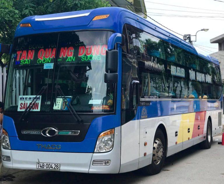 Xe Tân Quang Dũng Limousine