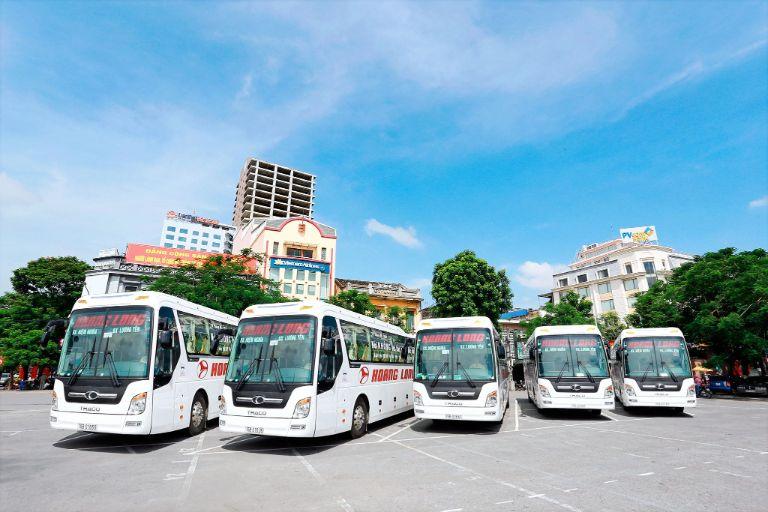 Hoàng Long - Xe khách chạy tuyến Hà Nội Quy Nhơn