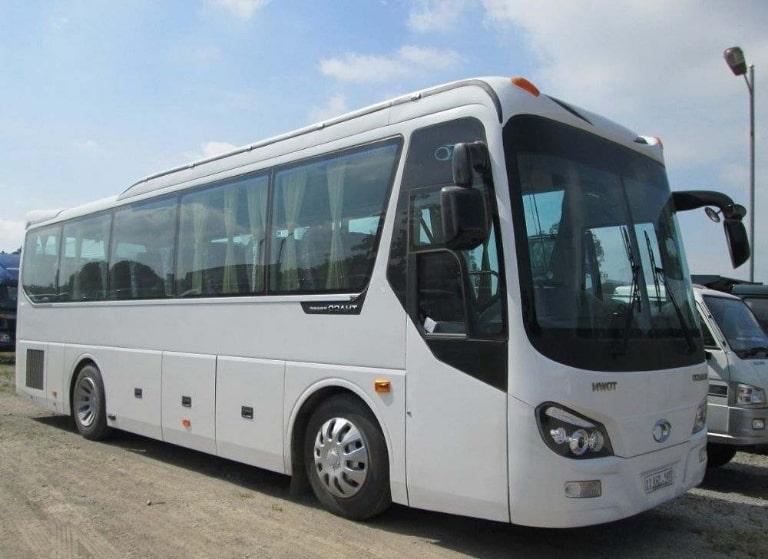 Xe khách Thu Trang đi Sài Gòn