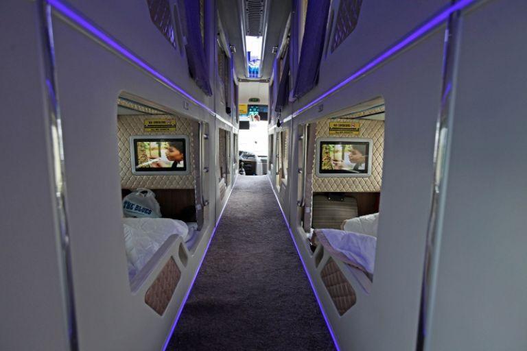Hạng Luxury của xe Hải Vân Express