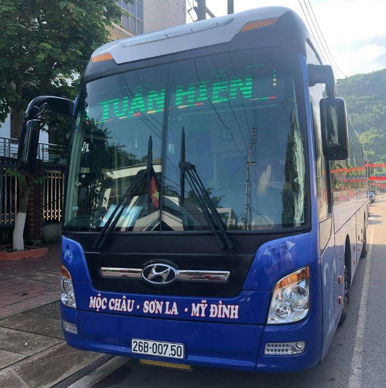 tuyến xe khách Hà Nội Sơn La
