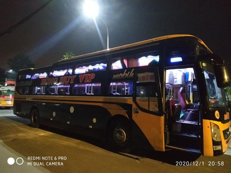 Xe khách Hà Nội Tây Ninh