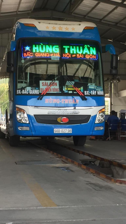 Xe khách Hà Nội Tây Ninh uy tín
