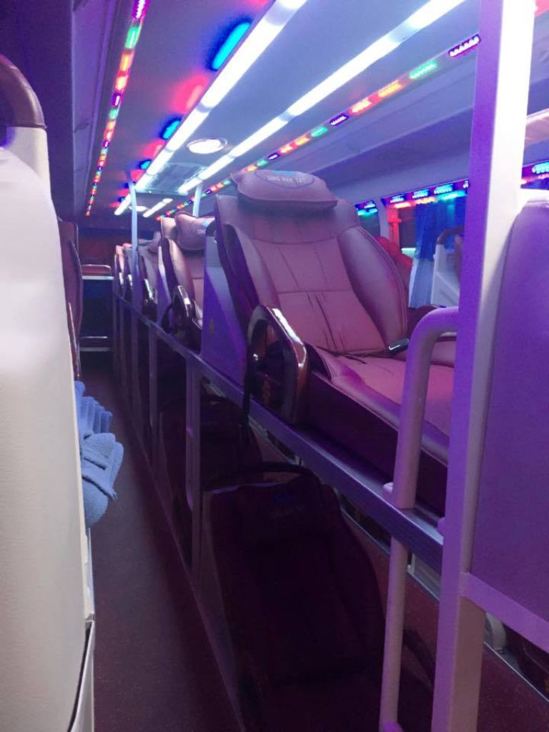 Xe khách Hà Nội đi Tây Ninh chất lượng