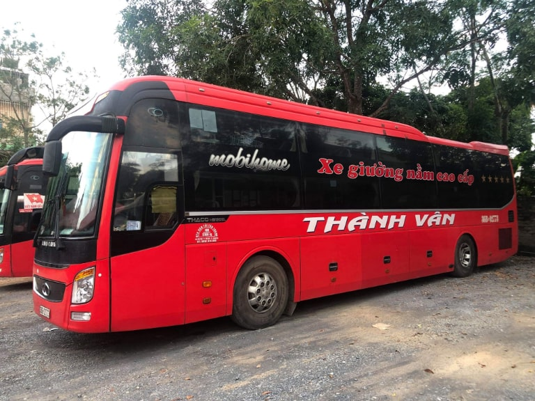 Xe khách Thành Vân đi từ Hà Nội về Thanh Hóa