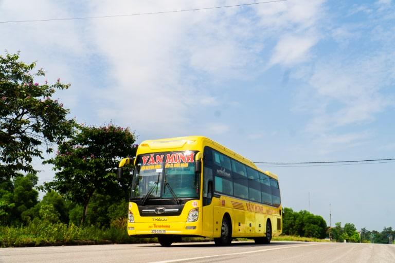 Xe khách Văn Minh Hà Nội về Vinh