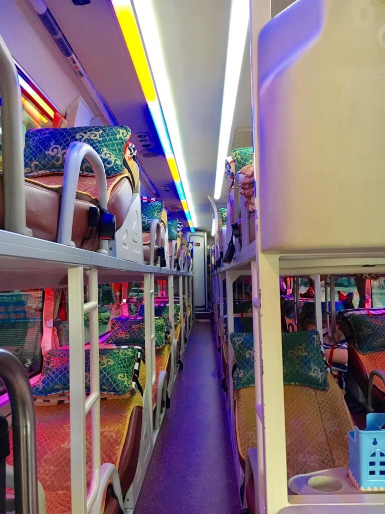 Nội thất xe Thuận Hiền