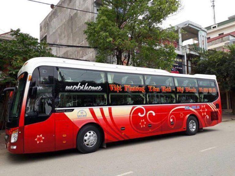 Xe khách Hà Nội - Yên Bái