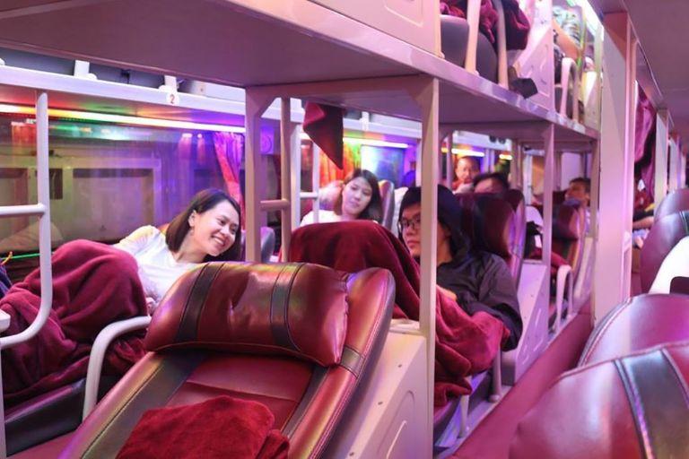 Xe khách Ha Nội - Yên Bái