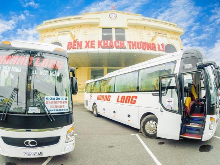 Nhà xe Hoàng Long - Đi đầu về chất lượng Xe khách Mỹ Đình Hải Phòng