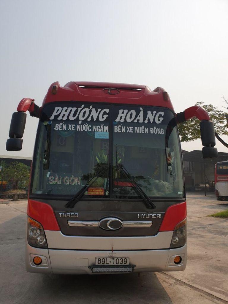 Nhà xe Phượng Hoàng đi Phú Yên