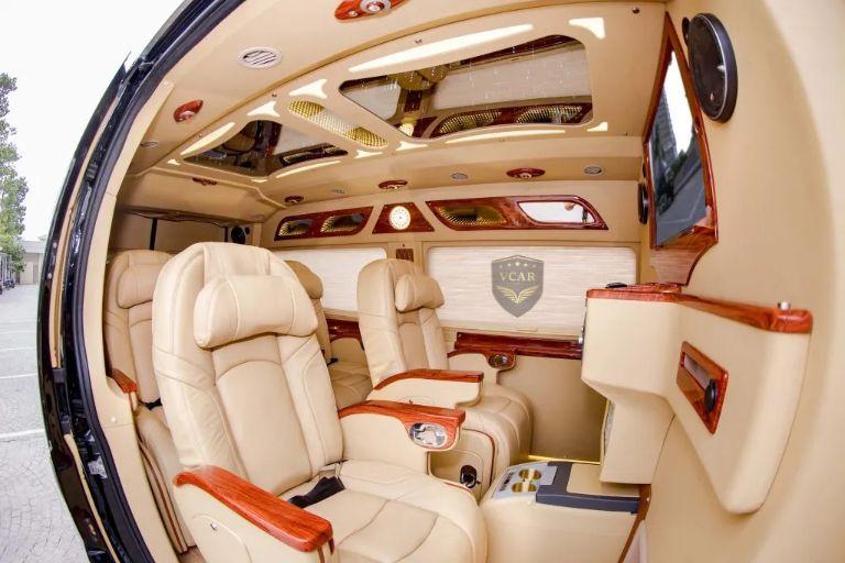 Nội thất Limousine Bắc Sơn