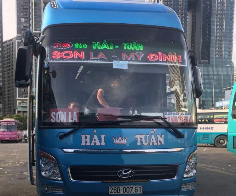 Nhà xe Hải Tuấn xe khách Hà Nội Sơn La