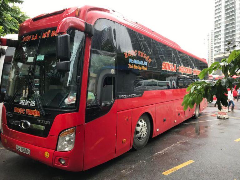 Nhà xe Ngọc Thuận xe khách Hà Nội Sơn La