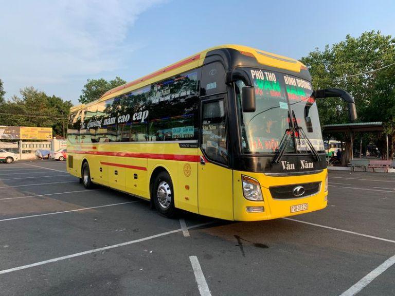 Xe khách Văn Năm Hà Nội Đồng Nai