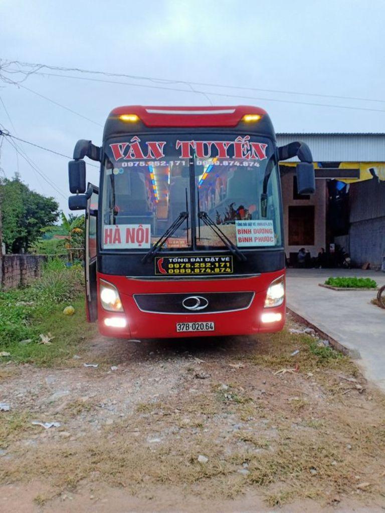 Xe khách Vân Tuyến đi Phú Yên