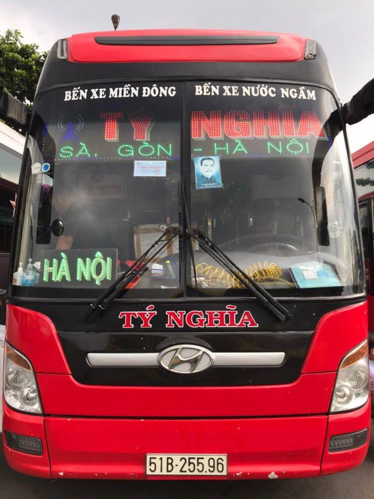 Xe khách giường nằm Tý Nghĩa Hà Nội Đồng Nai