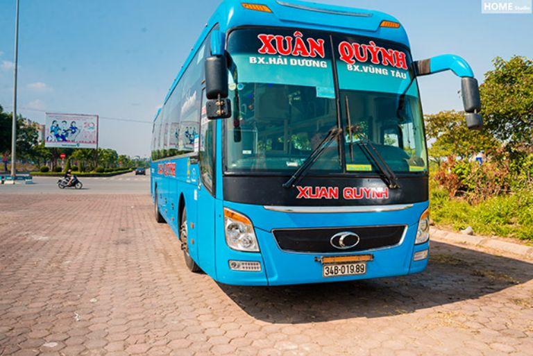 Xe khách Xuân Quỳnh chạy tuyến Hà Nội - Hưng Yên