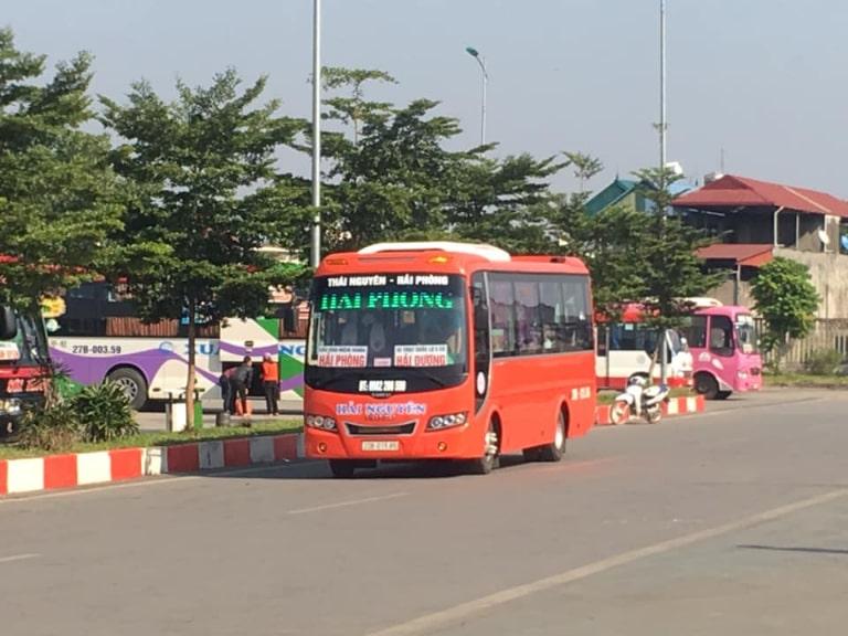 TOP xe khách Hải Phòng Thái Nguyên tiện nghi nhất