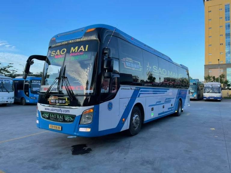 Nhà xe Sao Mai chạy tuyến Hải Phòng - Thanh Hóa