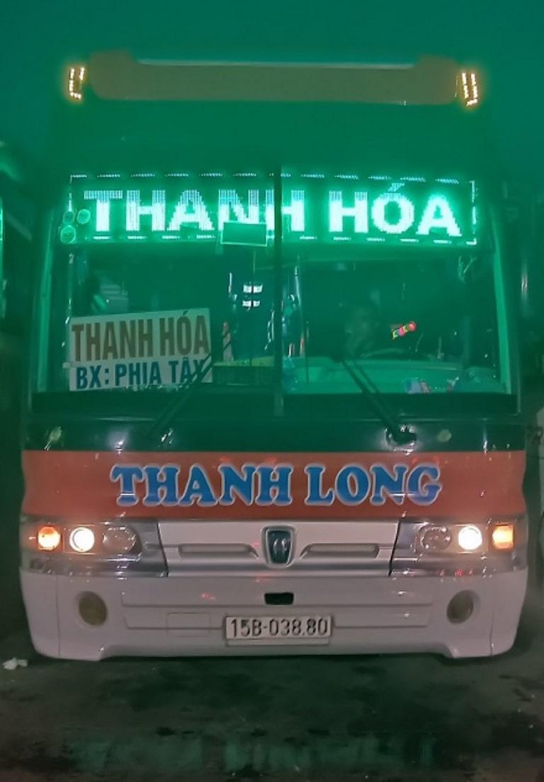 Xe khách Thanh Long hải Phòng đi Thanh Hóa