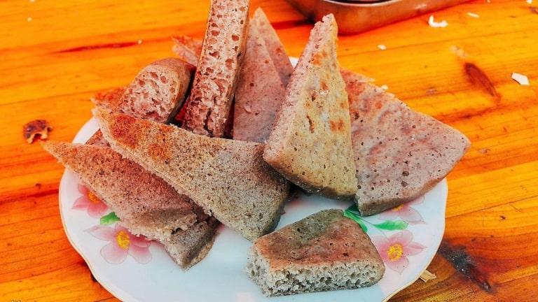 Món bánh đơn giản nhưng lại chiều lòng du khách