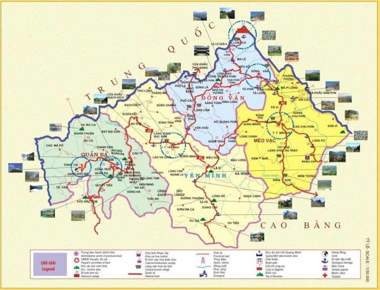 Đem theo bản đồ giấy của Hà Giang