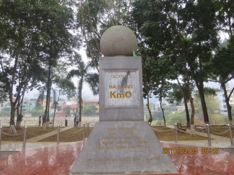 Địa điểm du lịch thành phố Hà Giang được lựa chọn để checkin