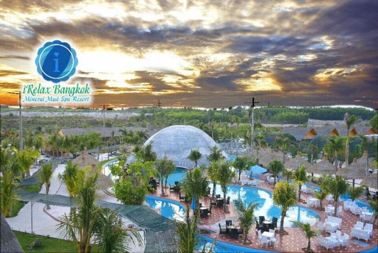 Khu nghỉ dưỡng Irelax Bangkok Resort với cảnh đẹp độc đáo