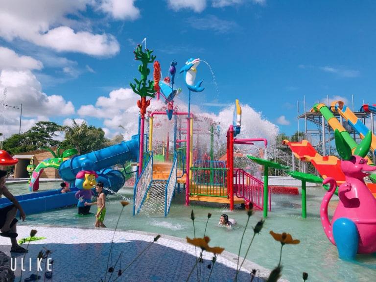 Khu trò chơi nước thú vị của Irelax Bangkok Resort Hồ Tràm