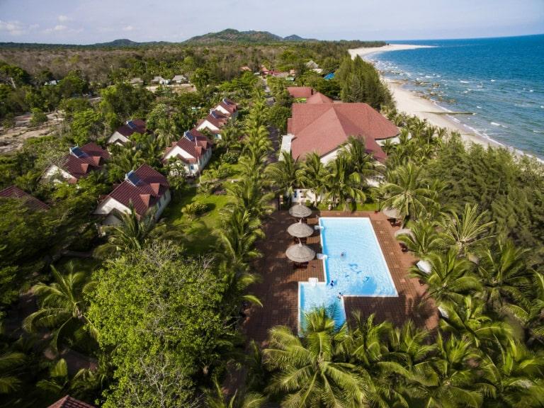 Vẻ đẹp e ấp của Hương Phong Hồ Cốc - Resort 3 sao tại Hồ Tràm.