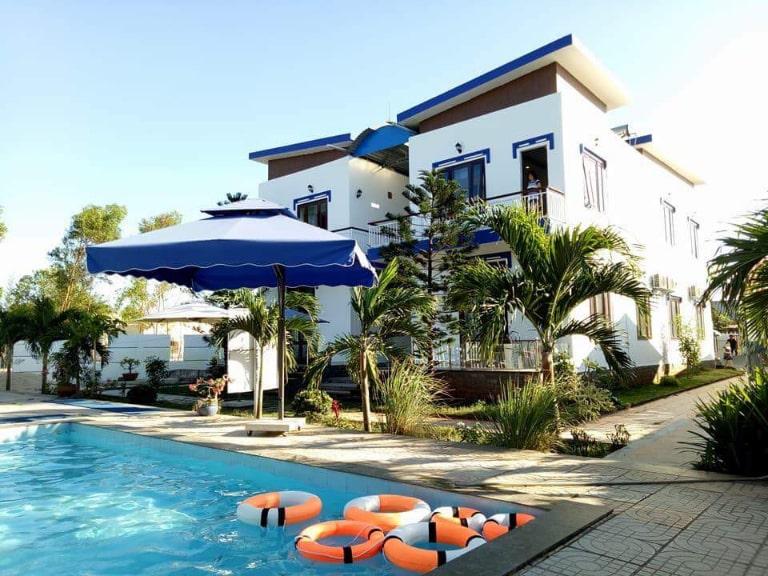 Toàn cảnh khu nghỉ dưỡng Sapphirea Motel Hồ Tràm resort