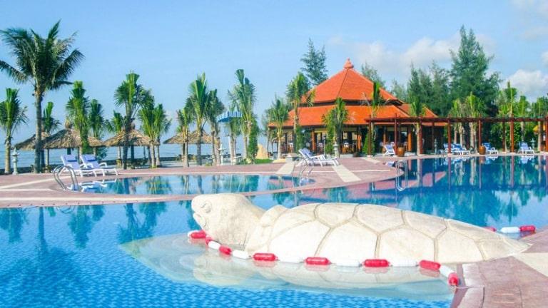 Resort 4 sao ven biển Hồ Tràm với thiết kế biểu tượng hình rùa