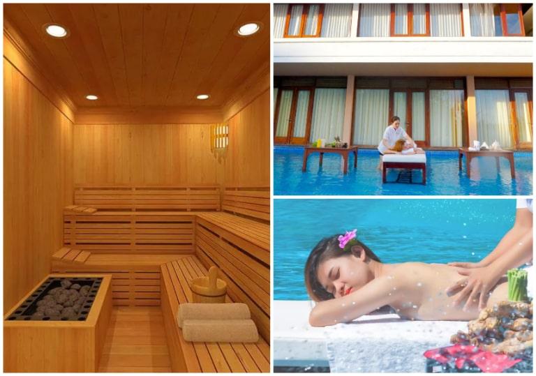 Dịch vụ spa và phòng tắm hơi chuyên nghiệp tại Hồ Tràm