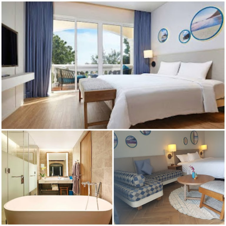 Không gian nội thất của resort Mercure Vũng Tàu