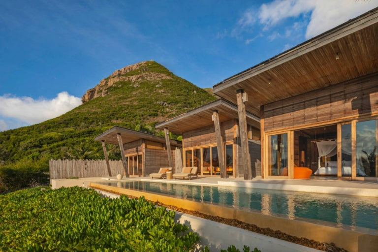 Không gian biệt thự tại resort Côn Đảo