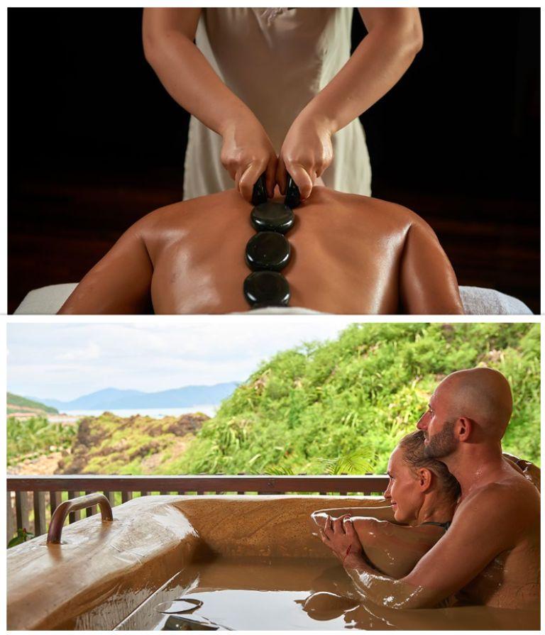Dịch vụ spa, tắm bùn tại Resort Amiana Nha Trang