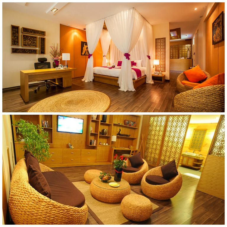 Luxury tại resort Aroma