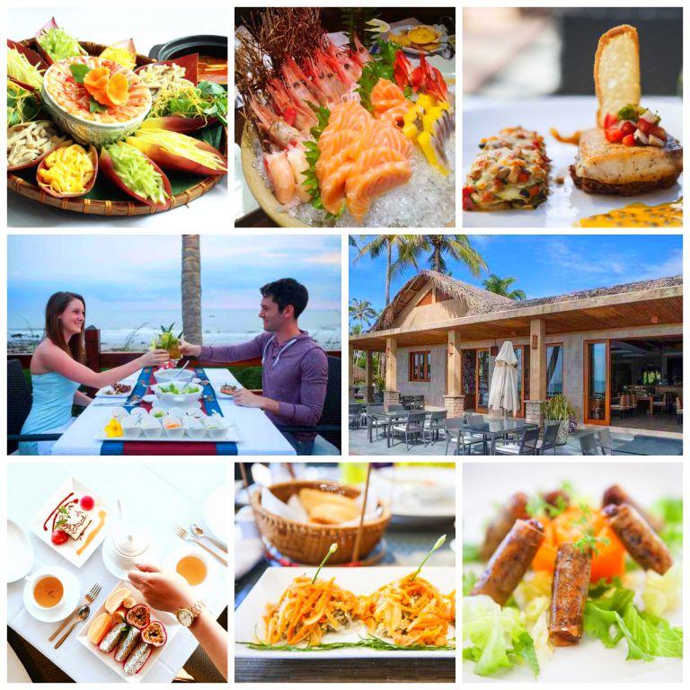 Ẩm thực của khu Resort Aroma